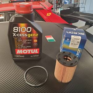 Oil Change Kit (Fiat/Abarth)