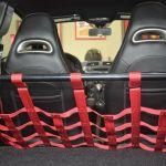 Biposto Style Strut/Chassis Bar & Cargo Net (Fiat/Abarth 500)