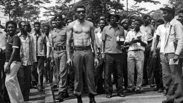 JJ Rawlings and the people of Ghana