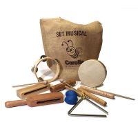 instrumentos musicales de madera corella