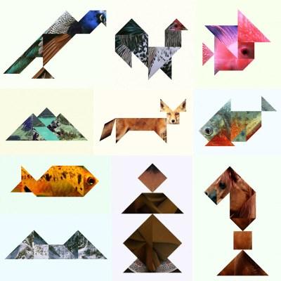 Animali Tangram