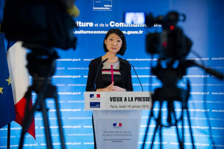 Fleur Pellerin, conférence de presse