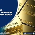 Harga Emas Diprediksi Tertahan Sejenak pada Pekan Ini
