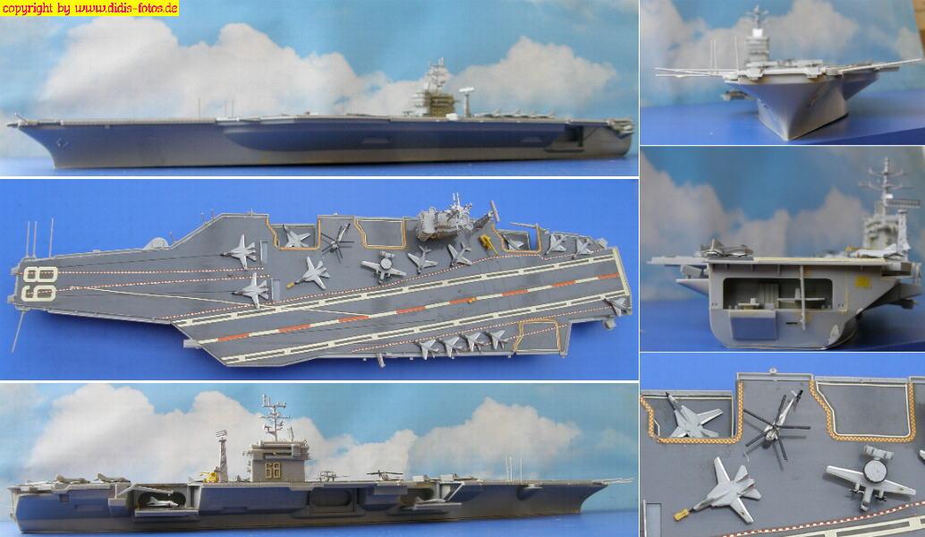 "CVN-68 USS ""Nimitz"" der Nimitz-Klasse (Revell 5057"