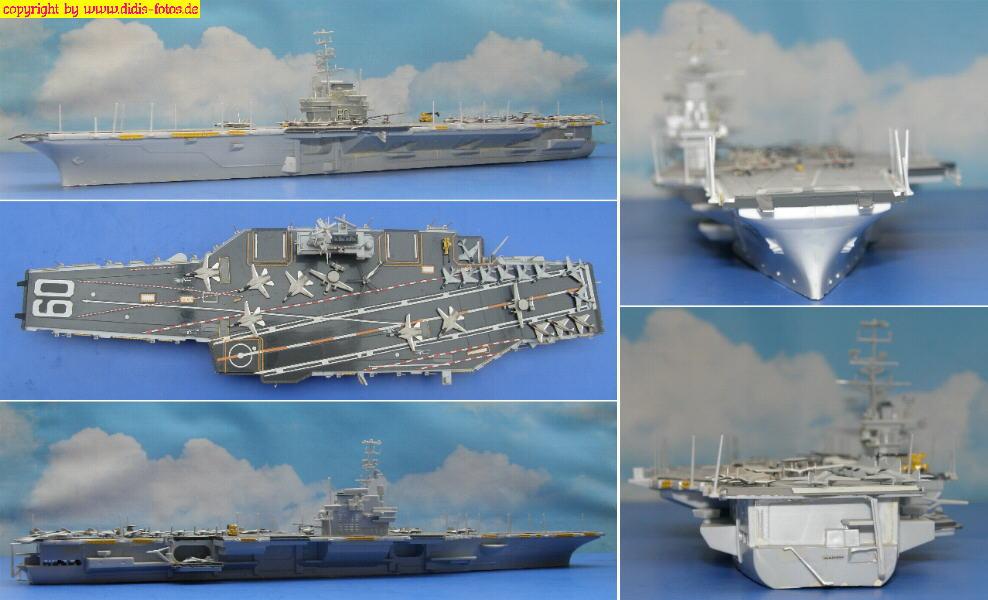 """CVS-60 USS """"Saratoga"""" der Forrestal-Klasse (Revell 5058)"""