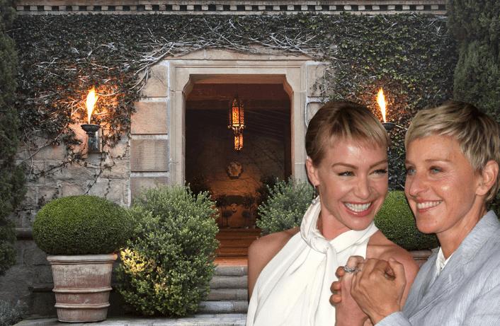 Ellen DeGeneres Santa Barbara Luxury Home