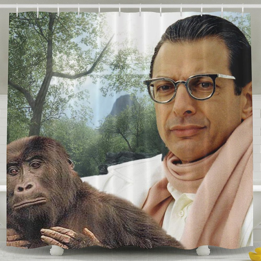 JEFF GOLDBLUM SHOWER CURTAIN Didnt Know I Wanted That