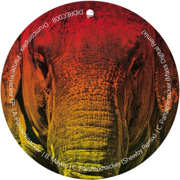 DIDREC008 - Drumcomplex - Panzerknacker EP