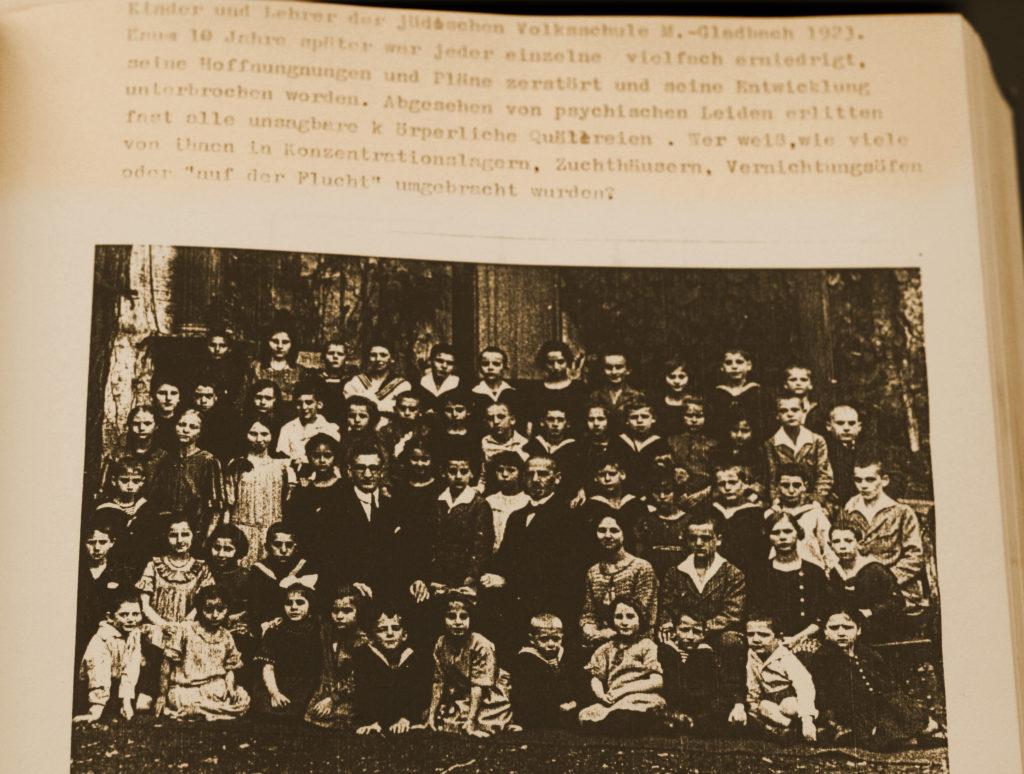 Alfred Katzensteins Schulklasse