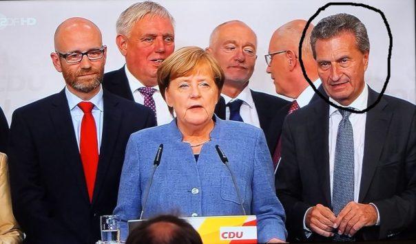 CDU vor den Kameras