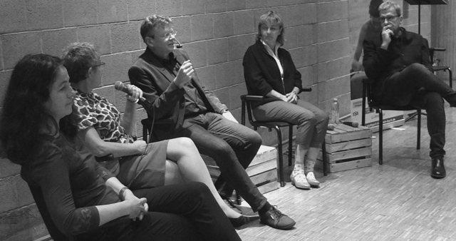 Die Abschlussdiskussion mit D. Reimann, A. Braun, W. Tischer, B. Hiller, U. Nill (v.l.n.r.) Foto: © M. Seehoff