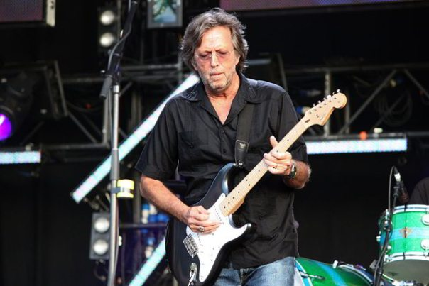 Eric Clapton 2008 im Hyde Park, London