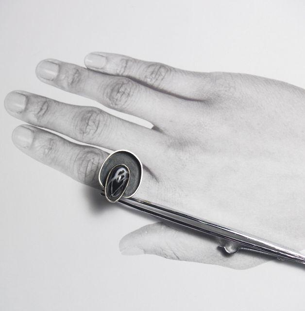 ring, silberring,
