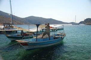 Das Boot von Mustafa