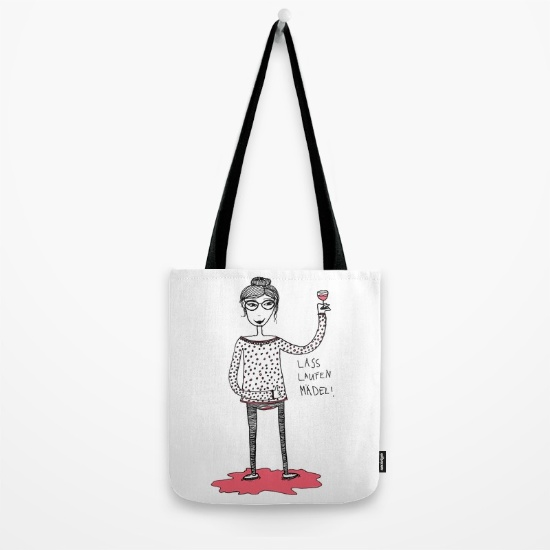 Tasche von Living Out Loud Design