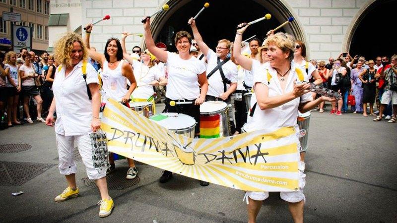 Percussion Band Drumadama München