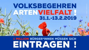 Volksbegehren Artenvielfalt - www.die muencherin.de