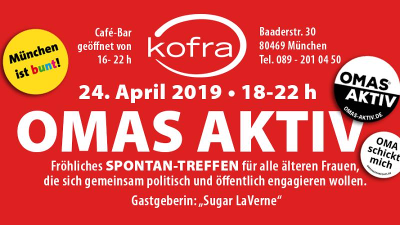 OMAS AKTIV - Spontan-Treffen im Kofra, München