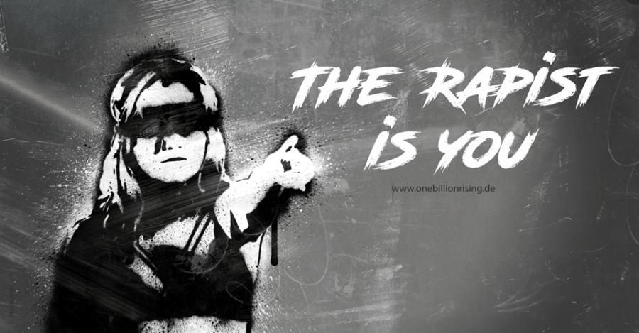 El violador eres tú - The rapist is you - #lastesis #unvioladorentucamino