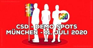 CSD München 11.7.2020 Demo Spots