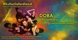 Kulturlieferdienst DoBa Donnerbalkan