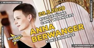 Anna Berwanger Konzertharfe Gans Woanders