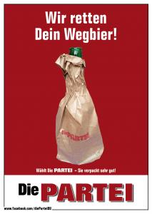 DiePARTEI_Duis_Rettung_des_Wegbier