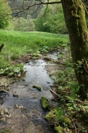 Brommersbach an der Heckenlandroute