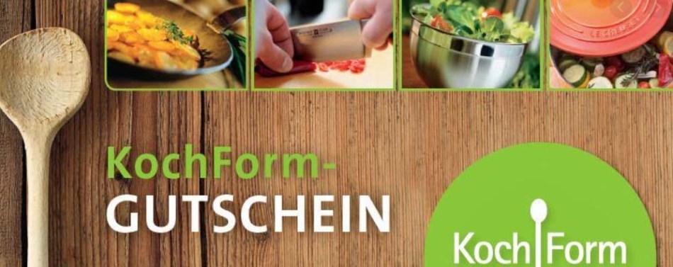 KochForm Gutschein