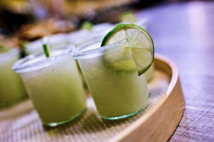 Limetten-Gurken Margarita