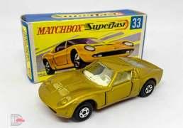 Matchbox Superfast No.33a Lamborghini Miura