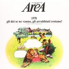 Copertina dell'album 1978 gli dei se ne vanno, gli arrabbiati restano! degli Area