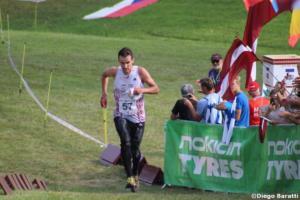 Andris Jubelis(LAT), WOC 2018  relay, Diego Baratti
