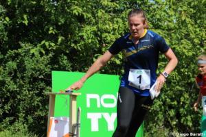 Helena Bergman (SWE), WOC2018, relay, Diego Baratti