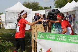Julia Jakob (SUI), WOC 2018  relay, Diego Baratti  (4)