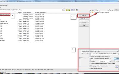 Redimensionar imágenes web con FastStone