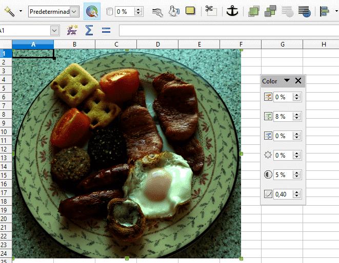 Herramientas de imagen en Libre Office