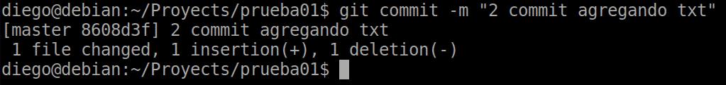 09 git commit con archivos modificados