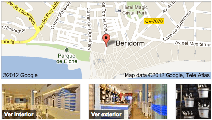 Restaurantes que utilizan Google Business Photos