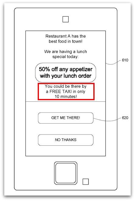 Google quiere llevar en coche a los clientes de restaurantes