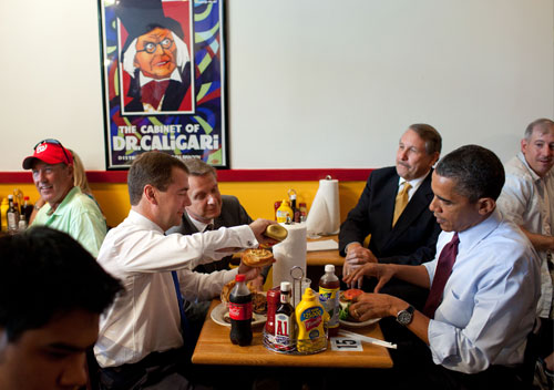 President-Obama at Ray's_Hell_Burger