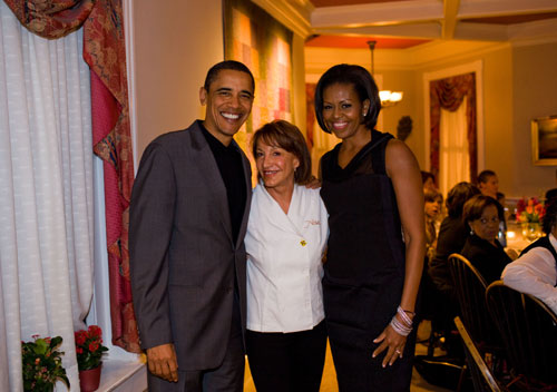 President-Obama at Restaurant-Nora-Washington