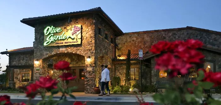 Olive Garden restaurant chain in the United States