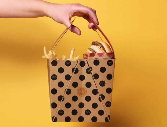 Diseño de packaging para BigMac por Jessica Stoll