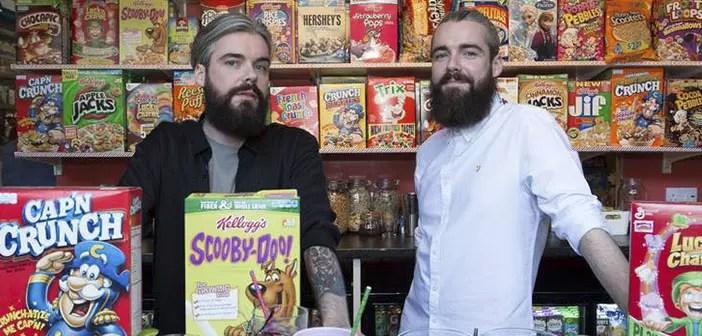 Fundadores del Cereal Killer Cafe