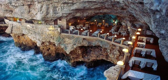 Restaurant-Grotte en Italie