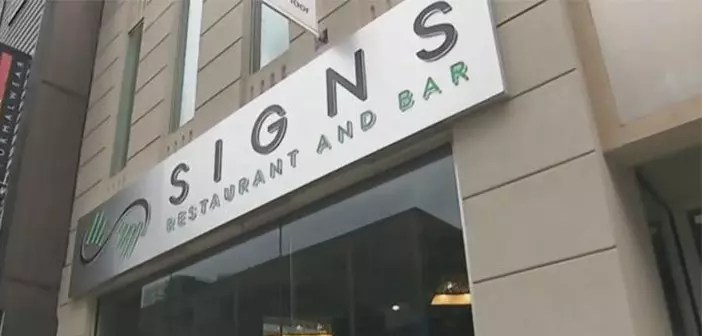 Restaurant Facade Signs