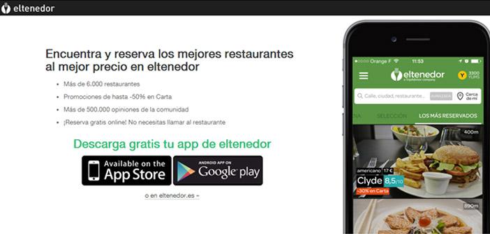 app fourchette