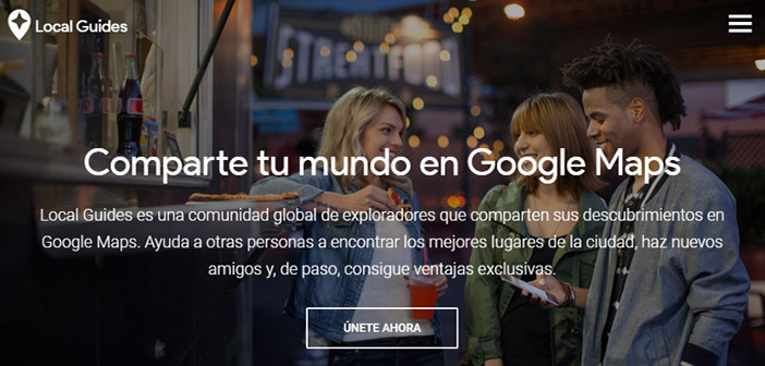 Local Guides opiniones de clientes de restaurantes de Google