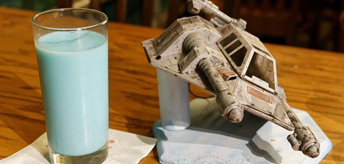 Rebel Hangar restaurant table-star wars